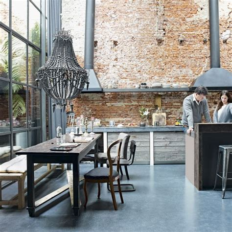 Modern rustic kitchen diner   Open plan living ideas