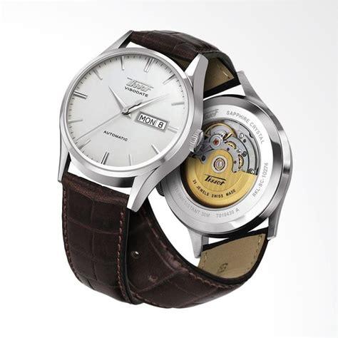 Jam Tangan Tissot Visodate jual tissot heritage visodate automatic leather jam tangan