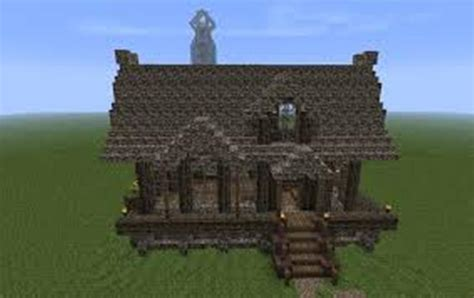 Small Medieval House Minecraft Blueprints BEST HOUSE