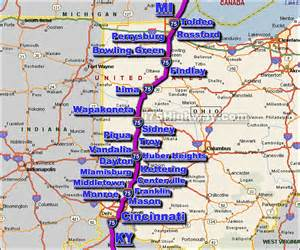 i 75 ohio traffic map