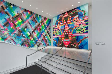 Outer Space Wall Murals hammer projects maya hayuk hammer museum