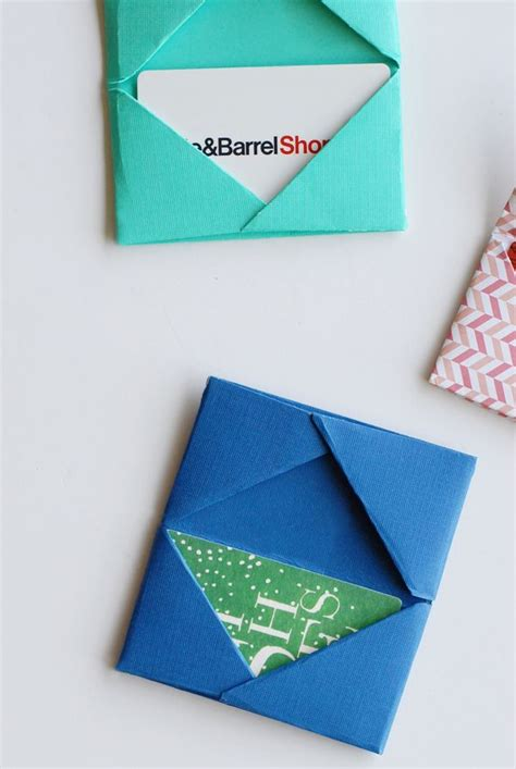 Paper Card Holder Template by 17 Ideas About Gift Card Wrapping On Wrapping