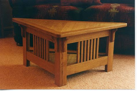triangle end table plans furniture brown wooden triangle end table with shelf and