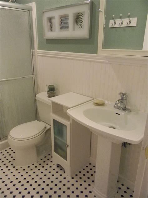 in a bathroom bathroom with wainscoting downstairs apartments pinterest