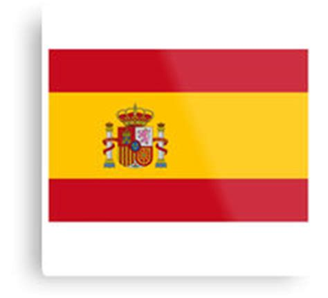 Quot Spain Flag Quot By Needthreads Redbubble Printable Spain Flag
