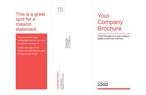 tri fold business card template word professional brochure templates free dedalinstant