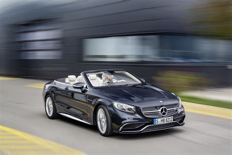 Mercedes AMG S 65 Cabriolet revealed   Car News   Luxury