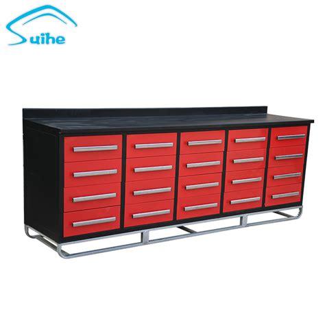 suihe garage modular design steel  drawers large tool