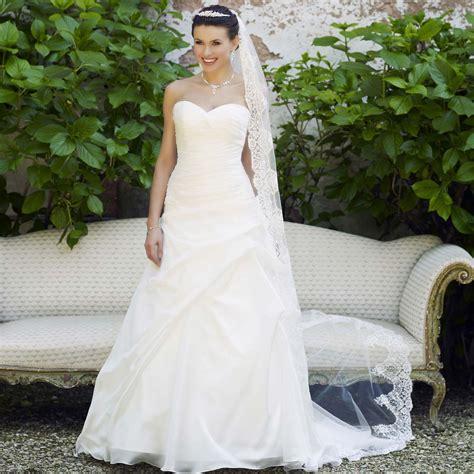 Robe De Mariée Pauline - robe de mari 233 e pas cher en organza avec bustier cœur