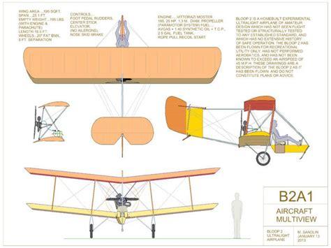 Free Garage Plans And Designs find bloop 2 biplane motor floater plans 92 color sheets