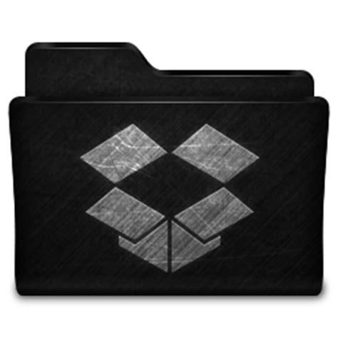 dropbox grey icon dropbox folder icon metallen icons softicons com