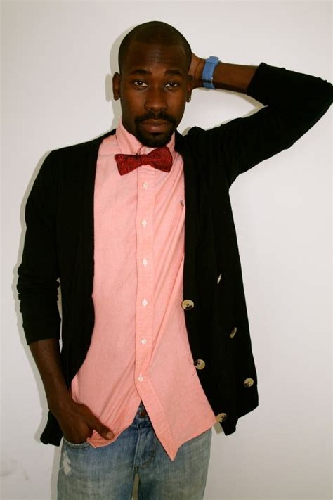 bow tie pink shirt s style