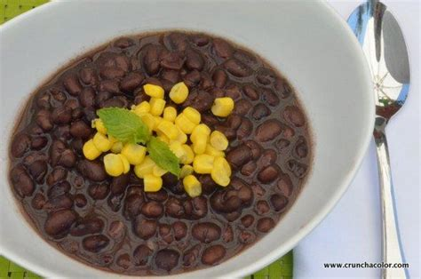 a convenient meal how to cook black beans crunch a color
