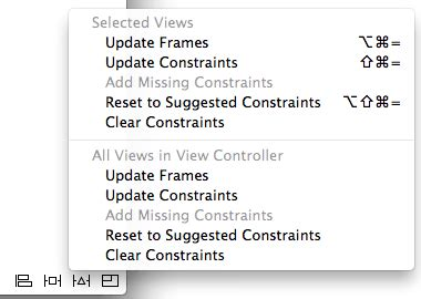 xcode auto layout update frames working with ios 10 auto layout constraints in interface