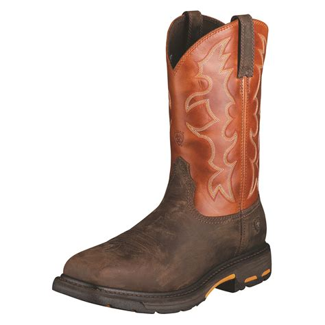 ariat steel toe boots s workhog ariat steel toe boots 10006961