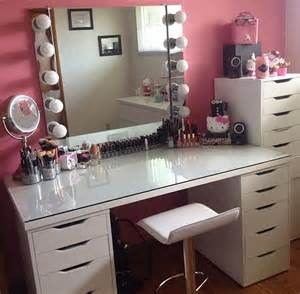 Makeup Vanity Table And Chair 17 Best Ideas About Ikea Vanity Table On