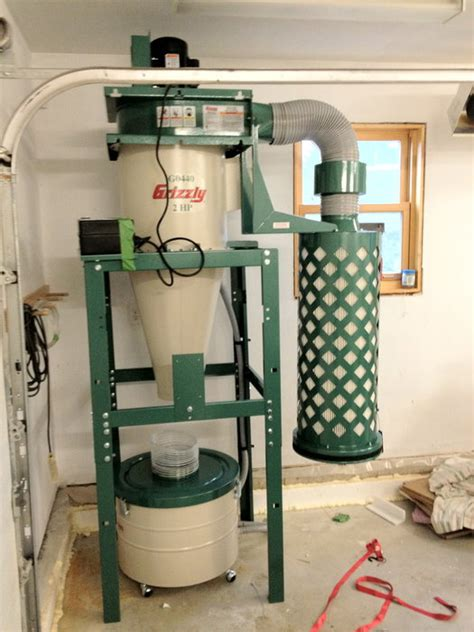 cyclone dust collector reviews woodworking review review and testing of a g0440 cyclone dust
