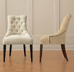White Fabric Dining Room Chairs by White Fabric Dining Room Chairs Home Furniture Design