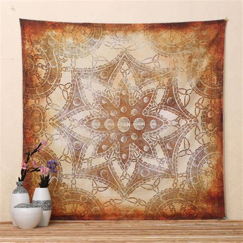 tapestry home decor indian floral wall hanging mandala tapestry bohemian bed