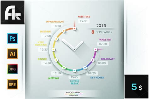 infographic timeline template presentation templates on