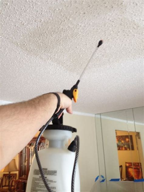 Remove Popcorn Ceiling Diy by Removing Popcorn Ceilings Crafts For The Home