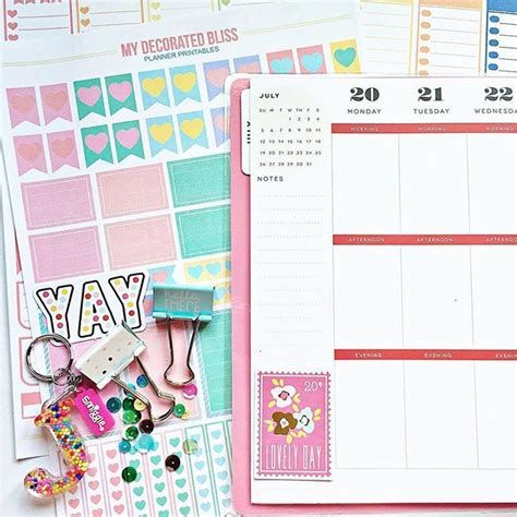 mambi planner free printable free printable for mambi happy planner link http bit