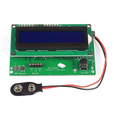 resistor tester sainsmart multi use transistor tester capacitor esr meter inductance resistor npn pnp mosf 3d