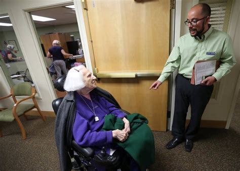 volunteers give nursing home residents a voice