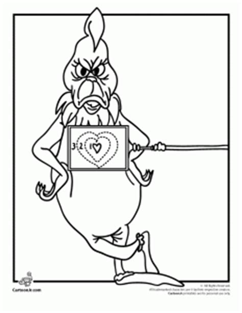 coloring pages of mr grinch grinch coloring pages