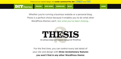 wordpress thesis post template
