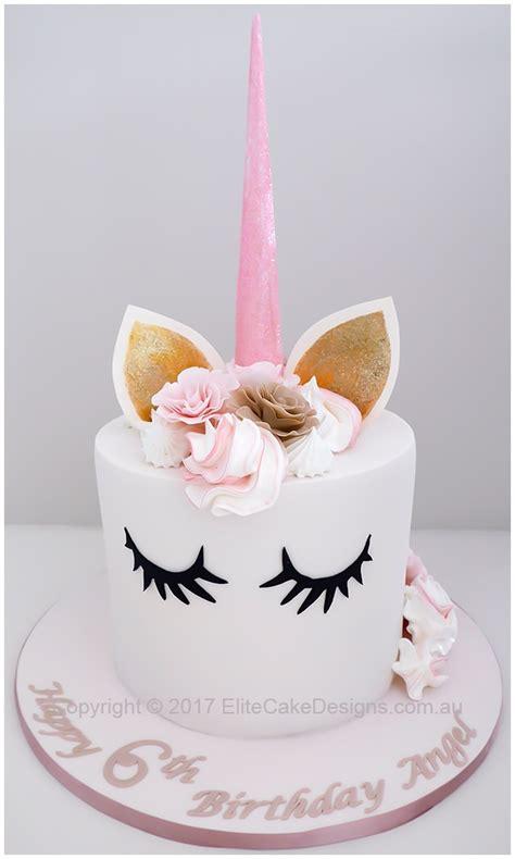 unicorn girls birthday cake  sydney exclusively designed  elitecakedesigns