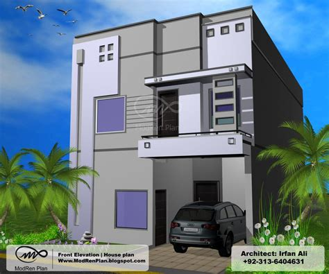 3 bedrooms simplex house design in 270m2 15m x 18m 3 marla front elevation house plans modern design indian