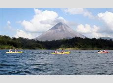 Costa Rica Kayak Tour on Lake Arenal Kayak Hotels