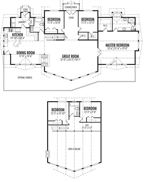Post And Beam Home Plans Floor Plans by Charlescroft Custom Estate Homes Cedar Homes Plans