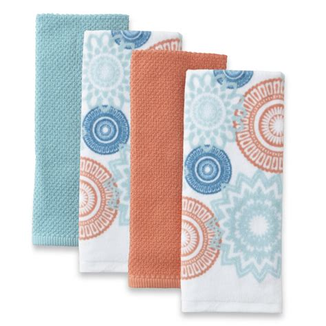 kitchen towels machine wash soft kitchen towel kmart com