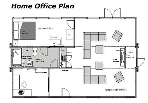 House Plans With Office by Home Office Floor Plans Home Office Floor Plans