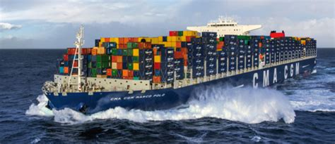 biggest roro vessel in the world cma cgm rationalise ses services asie europe