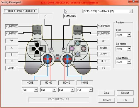 xbox 360 controller layout for pc epsxe play with gamepad joystick controller support