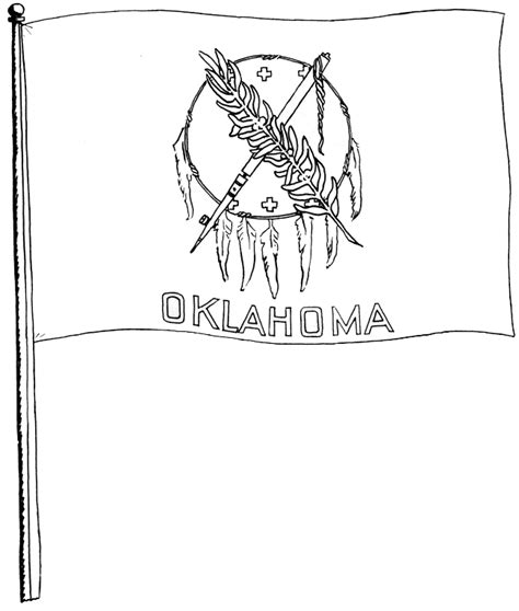 okc coloring pages oklahoma free coloring pages