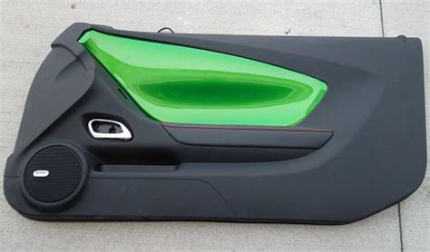 2010 Camaro Door Panel Lights by 2010 2014 5th Generarion Camaro Painted Door Dash Panel