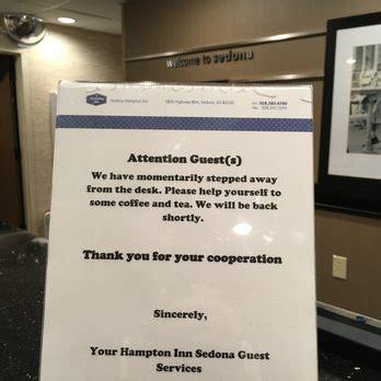 away from desk sign hton inn sedona 46 photos 56 reviews hotels