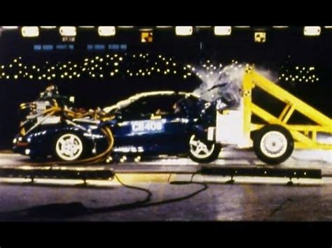 Rear End Crash Tests by 1997 Chevy Camaro Rear Crash Test Potential By