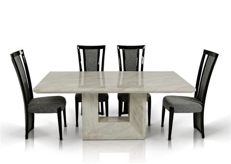 mozart modern marble dining table