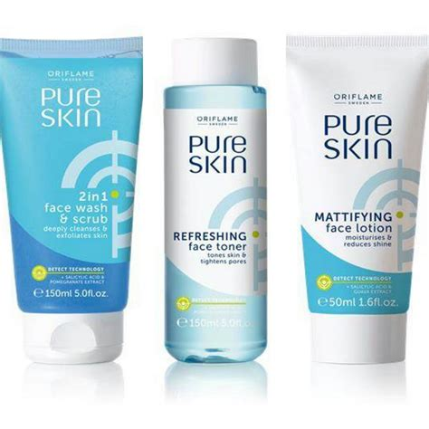 Skin Wash Oriflame Ready Sale oriflame skin wash lotion and toner