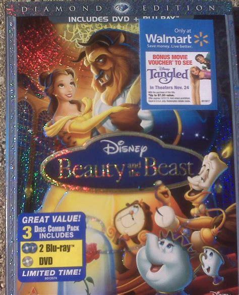 film disney walmart beauty and the beast blu ray best deal
