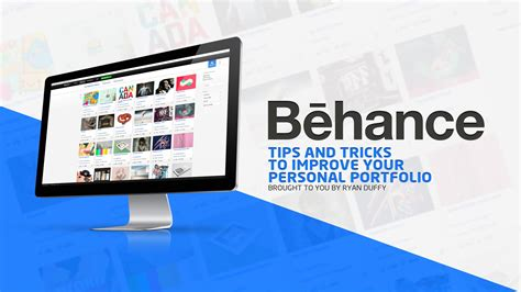 helpful tips to create a more successful behance portfolio