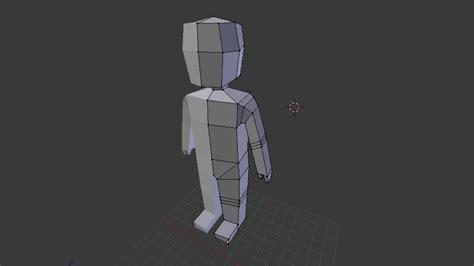 Blender Tutorial Low Poly Character | speedart low poly character modeling blender youtube