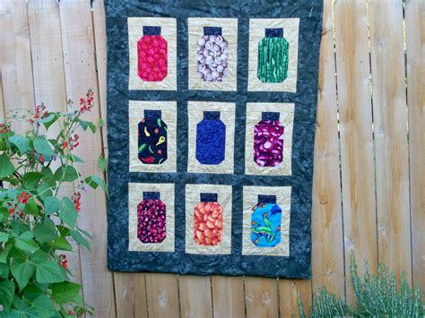 quilt pattern jars mason jar quilt quilts pinterest