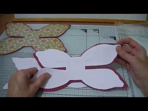hair bow card template bow template tutorial