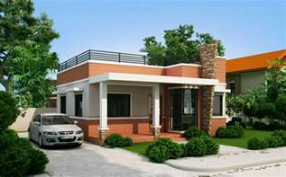 Modern One Story House small modern one story house plans
